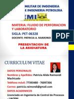 Presentacion Fluido de Perforacion II-2015