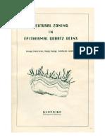 Textural Zoning in Epithermal Quartz Veins (Morrison Et. Al., 1990)