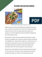 Cerita Rakyat Danau Toba Dan Pulau Samosir