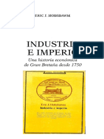 4-Hobsbawm Eric, Cap. 2 (Versión Copia) El Origen de La Revolución Industrial, En Industria e Imperio