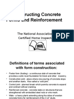 Constructing Concrete Forms Course
