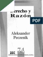 Derecho y Razón (Aleksander Peczenik)