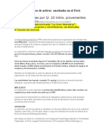 Delitos de Lavados de Activos Suscitados en El Perú