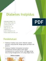Diabetes Insipidus presentation