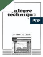 Bruno Latour, Les vues de l'esprit, Culture Technique, no 14, 1985
