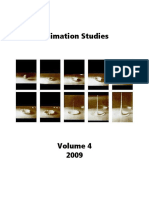 Animation Studies Vol. 4
