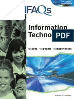 Career FAQs InformationTechnology