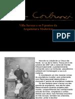 Villa Savoye e os 5 pontos da Arquitetura Modernas