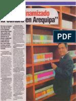 """""""Hemos dinamizado la cultura en Arequipa"""", Rommel Arce"""