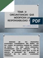 Tema 21 Penal