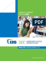 ISEE Middle Level student guide