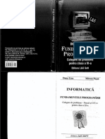Informatica Fundamentele Programarii Cls a11a