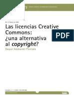 Las Licencias Creative Commons - Raquel Xalabarder