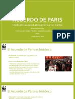 Acuerdo de París, implicancias para Latinoamerica y el Caribe