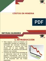 11.0 Tratamiento de Los Costos Mineros Para Valorizar Minas