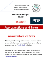 Ch3 Approximations Errors