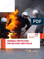 Nomex® Thermal Protection for Military and Police
