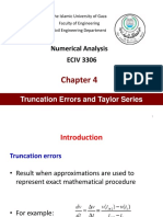Ch4 Truncation Errors Taylor Series