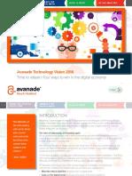 AvanadeTechnologyVision2016 Full eBook FINAL