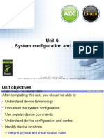 AIX SYSTEM & Device configuration