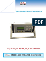 Model 202 Infrared Analyzer 115