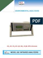 Model 202 Infrared Analyzer 115