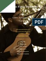 Marcos Pablo Dalmacio - Dossier Artístico