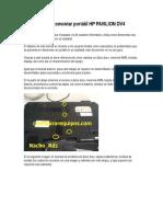 Tutorial Para Desmontar Portátil HP PAVILION DV4