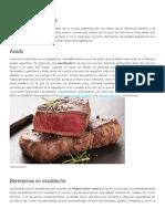 Comidas típicas De Argentina