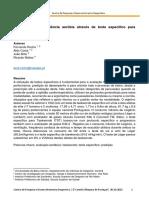 Determinação Da Potência Aeróbia Através de Teste Específico Para Taekwondo (2014)