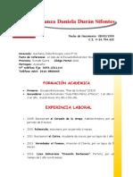 Curriculum Aranza