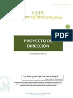 Proyecto de Direccion Ceip Tierno Galván