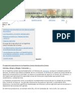 Apuntes agroeconómicos