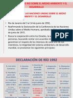 PPT de La Declaración de Rio