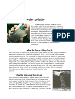 water pollution article