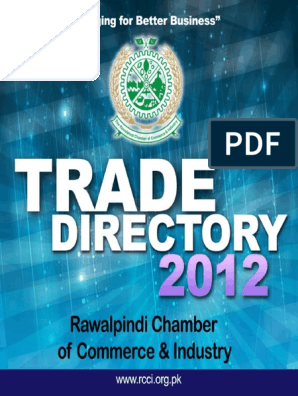 Pakistan Chamber of Commerce Membership_Directory | Islamabad | Pakistan