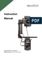 Roundshot VR Drive 2 Instruction Manual