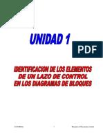 UNIDAD 1 Identificación de Los Elementos de Un Lazo de Control a Bloques