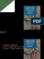 Un Estudio de Punto y Línea Sobre El Plano (Def)