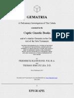 Gem Atria Coptic Gnostic Books