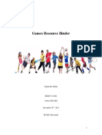 games binder