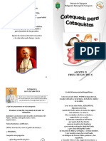 Catequesis Para Catequistas - Folleto