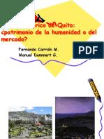 Patrimonio de La Humanidad o Del Mercado, Quito
