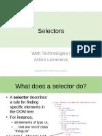 05 Selectors