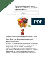 Una Guía Para Mantenerse Actualizado en Cuanto a Agentes Nucleantes (ADITIVOS)