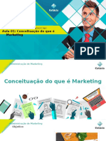 Aula 01 - Administraçao de Marketing