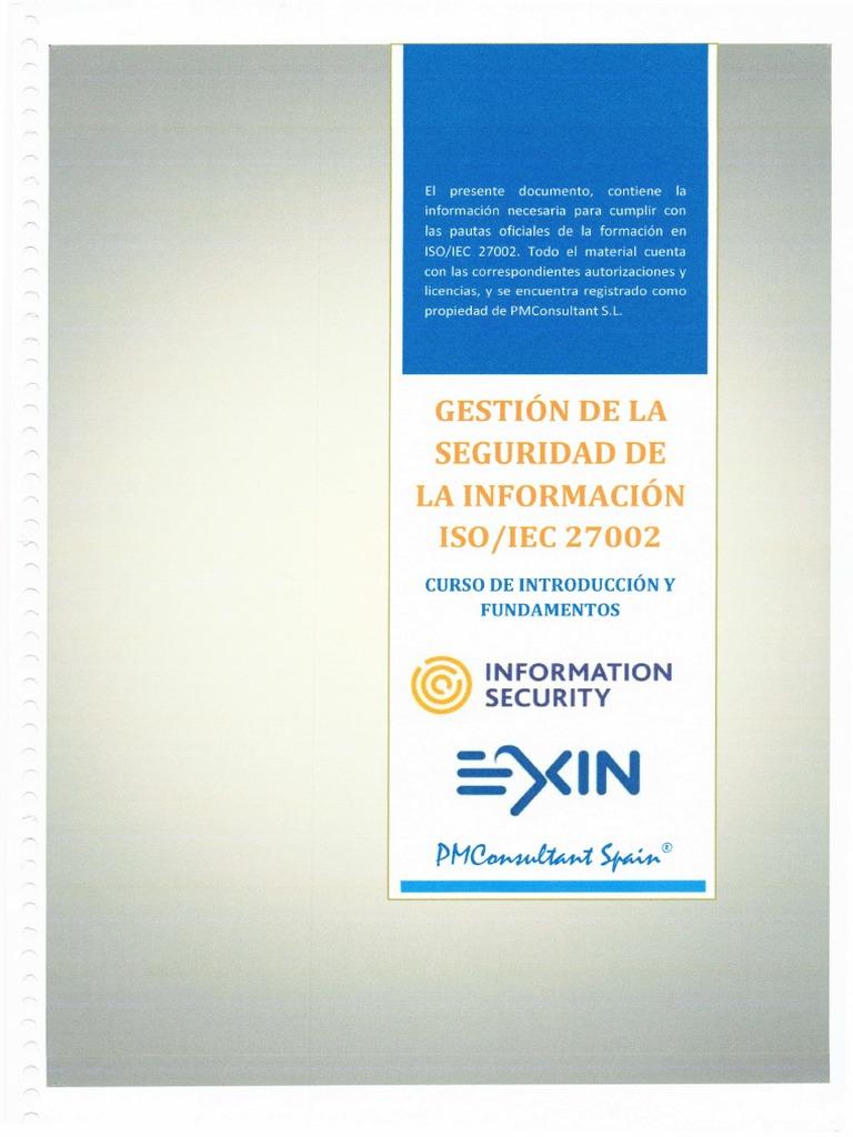 Gestion Seguridad Informacion