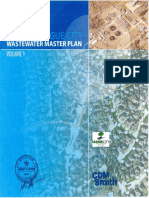Wastewater Master Plan 2012 - Optimized