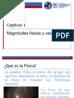Cap 1 Magnitudes Fisicas y Vectores