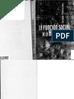La Funcion Social de La Historia FLORESCANO